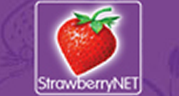 草莓网logo