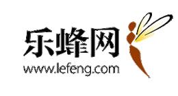 乐蜂网logo