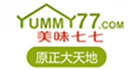美味七七logo