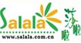 莎啦啦鲜花网logo